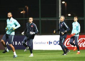 A Milli Futbol Takım, Romanya ve Arnavutluk maçları hazırlıklarına başladı