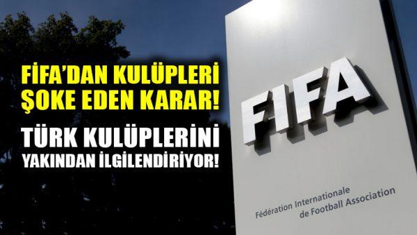 FIFA, FIFPro ile anlaştı, maaşı iki ay ödenmeyen futbolcu serbest kalacak!