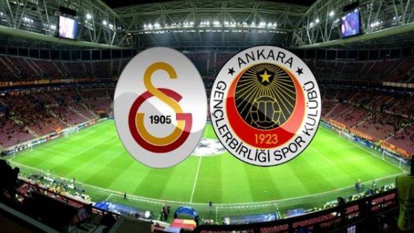 Galatasaray-Gençlerbirliği maçında ilk 11'ler belli oldu