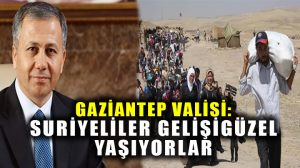 Gaziantep Valisi açıkladı: 150 bin Suriyeli ikametgahsız yaşıyor