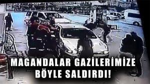 Ankara'da bir grup maganda iki gazimizi darp etti!