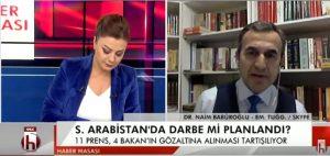 Babüroğlu: Suudi Arabistan'da Saray darbesi yaşanıyor