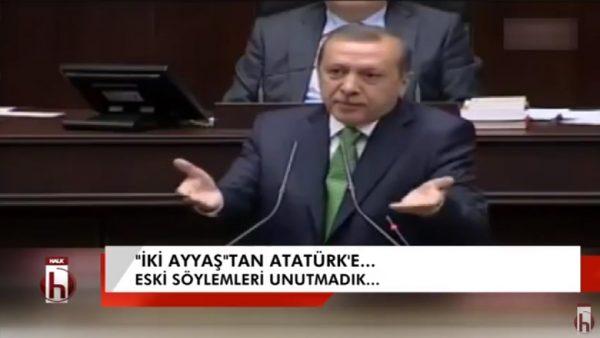 """AKP'den Atatürk açılımı-9: """"iki ayyaş""""tan Atatürk'e…"""
