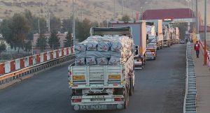 Kızılay'ın yardım konvoyu depremden etkilenen Irak'a ulaştı
