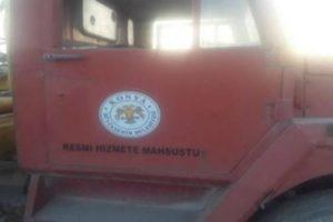 IŞİD'de bulunan AKP'li belediye aracı hakkında açıklama