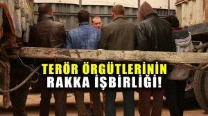 YPG ve IŞİD Rakka'da işbirliği yapmış!