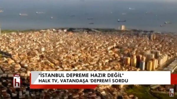 Halk TV vatandaşın nabzını tuttu: İstanbul depreme hazır mı?