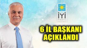 İYİ Parti'de Ankara, İstanbul, İzmir, Kocaeli,Giresunve Mersin il başkanları belli oldu