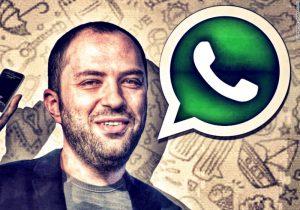 WhatsApp kurucusundan İsrail milli marşlı protesto