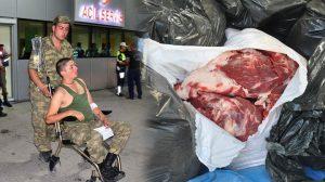 Zehirlenen askerlerden sonra TSK'da şimdi de kaçak et skandalı!