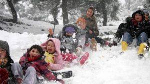 Yılın ilk kar tatili Niğde'de