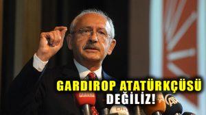 """Kılıçdaroğlu CHP'lileri uyardı: """"Onlar CHP'li olamazlar"""""""