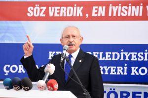 Kemal Kılıçdaroğlu'ndan Erdoğan'a: İçişleri Bakanlığını harekete geçirmezsen adam değilsin