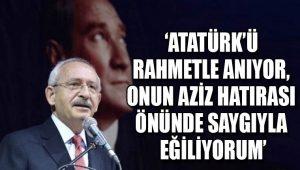 Kemal Kılıçdaroğlu'ndan 10 Kasım mesajı
