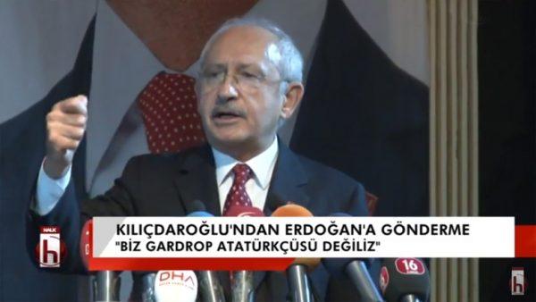 AKP'den Atatürk açılımı-3: Kılıçdaroğlu'ndan Erdoğan'a gönderme