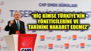 """Kılıçdaroğlu, NATO skandalına """"özürle geçiştirilemez"""" dedi"""