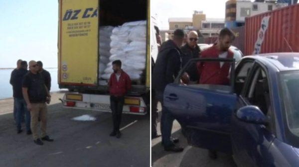 KKTC'ye gelen TIR'lar didik didik arandı, 9 Suriyeli mülteci yakalandı!