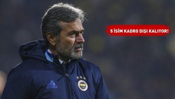 Fenerbahçe'de flaş Aykut Kocaman gelişmesi!