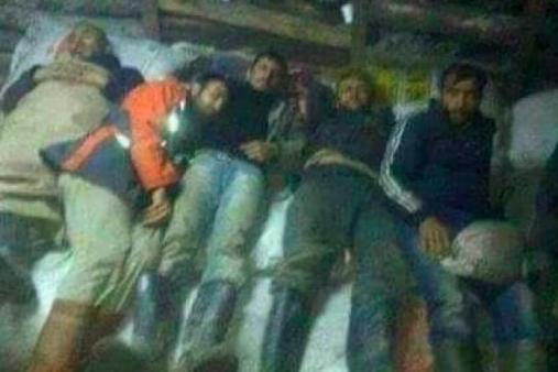 Zonguldak'taki maden işçilerinin yer altından ilk fotoğrafları