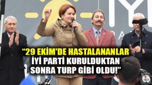 Meral Akşener Edirne'de: Yandaşı, candaşı, kandaşı kayırmayacaksın