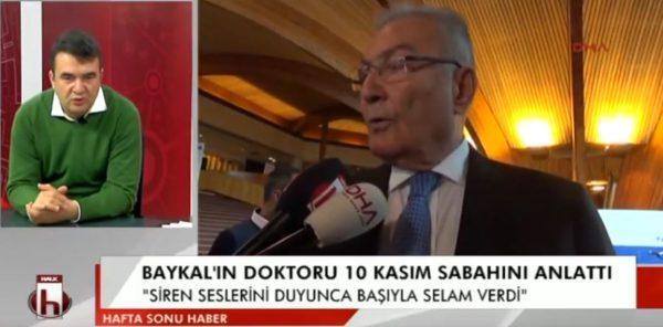 CHP'li Metin Lütfi Baydar'dan Baykal'ın sağlık durumu hakkında açıklama