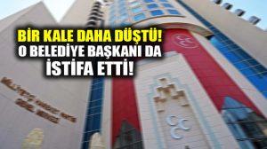 MHP'nin bir kalesi daha düştü, Türkeş'in memleketi Pınarbaşı Belediye Başkanı istifa etti