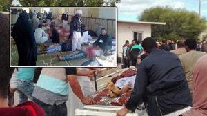 Mısır'da camiye bombalı ve silahlı saldırı!
