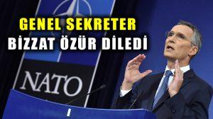 NATO Genel Sekreteri Stoltenberg Cumhurbaşkanı Erdoğan'dan özür diledi