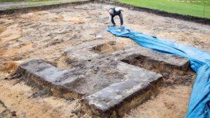 Spor sahası inşaatında bulundu! Nazi kalıntısı…