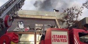 Nusret'te yangın çıktı!
