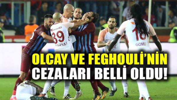 PFDK, Galatasaraylı Sofiane Feghouli ve Olcay Şahan'a 3'er maç ceza verdi