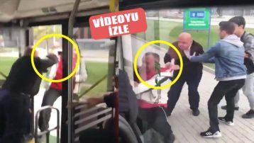 Yok artık! Şoför yolcuyu yaka paça otobüsten indirdi!