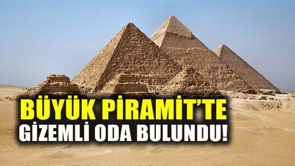 Mısır'daki Büyük Piramit'te gizemli yeni bir oda bulundu!