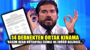 Rasim Ozan Kütahyalı'ya 14 Boşnak Derneğinden ortak kınama ve suç duyurusu