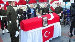 Samsunspor takımı şehit cenazesine katıldı!