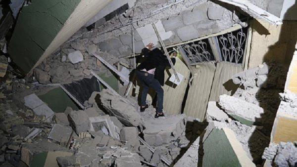 Süleymaniye'de hasar büyük! Gazeteci Özdemir Hürmüzlü Kerkük'ten bildirdi...