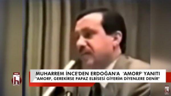 """AKP'den Atatürk açılımı-4: Muharrem İnce'den Erdoğan'a """"amorf"""" yanıtı"""
