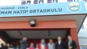 Tekirdağ Çorlu'da İmam Hatip'te müdür yardımcısı dayağından kaçan çocuk büfeye sığındı!