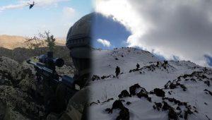 Tendürek Dağı'na büyük operasyon; sığınak ve mağaralar ateş altında