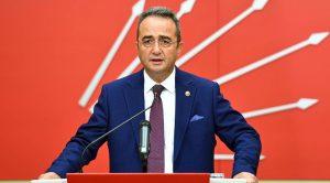 Parti Sözcüsü Bülent Tezcan açıkladı; İşte CHP'nin seçim barajı önerisi!