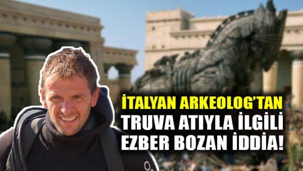 İtalyan arkeolog: Truva Atı, bilindiği gibi at değil, bir gemiydi!