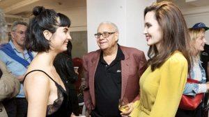 Tuba Büyüküstün ile Angelina Jolie buluştu