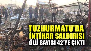 Türkmen kenti Tuzhurmatu'da intihar saldırısı: 42 ölü
