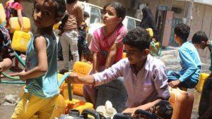 Yemen'e Suud ablukası: Temiz su kalmadı