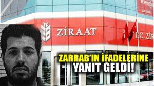 Ziraat Bankası'ndan Zarrab'ın ifadelerine yanıt!