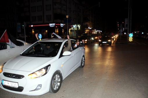 Gaziantep'te 'Kudüs protestosu'