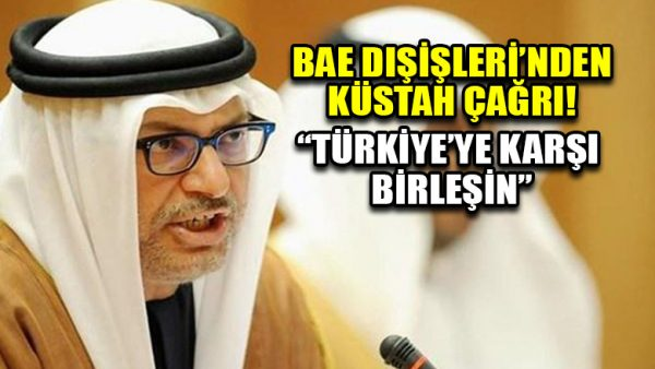 BAE Dışişlerinden Türkiyeye karşı birleşin çağrısı