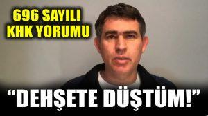 Barolar Birliği Başkanı Metin Feyzioğlu'ndan KHK tepkisi: Dehşete düştüm!