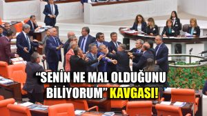 Meclis'te kavga: AKP'liler CHP'lilerin üzerine yürüdü!