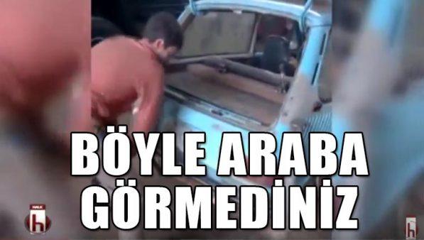 Bir arabadan mangal olur mu demeyin